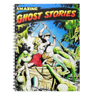 Amazing Ghost Stories Notebook