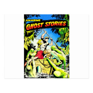 Amazing Ghost Stories Postcard