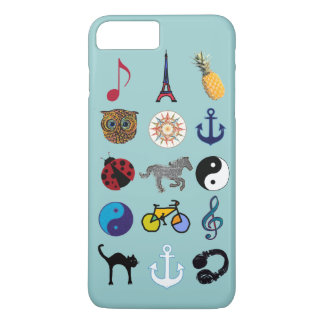 amazing girly colorful pattern iPhone 7 plus case