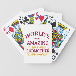 Amazing Godmother Bicycle Playing Cards