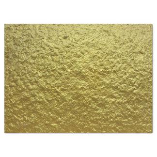 "Amazing Gold Metal Pattern Design 17"" X 23"" Tissue Paper"