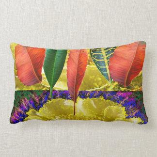 AMAZING Golden Flower n Leaf Pattern Pillows