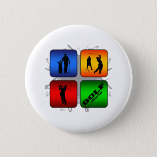Amazing Golf Urban Style 6 Cm Round Badge