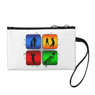 Amazing Golf Urban Style Coin Purse