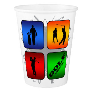 Amazing Golf Urban Style Paper Cup