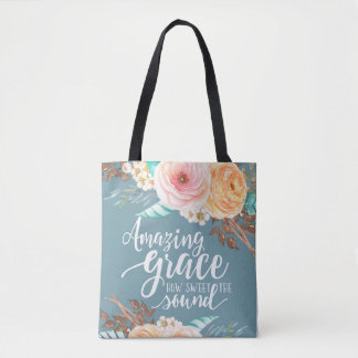Amazing Grace All Over Print Bag