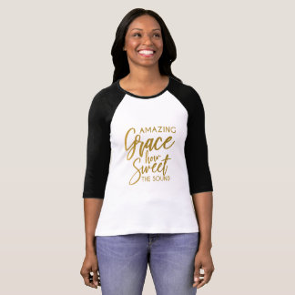 Amazing Grace How Sweet The Sound Spiritual shirt