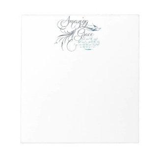 Amazing Grace Notepad