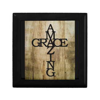 Amazing Grace Small Square Gift Box