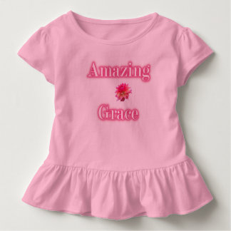 Amazing Grace Toddler Ruffle Tee
