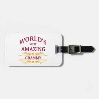 Amazing Grammy Luggage Tag