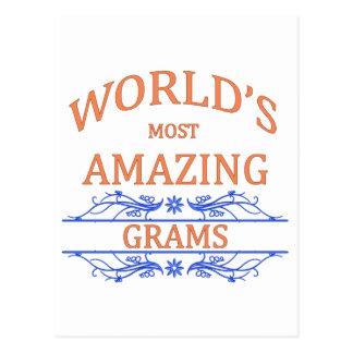 Amazing Grams Postcard