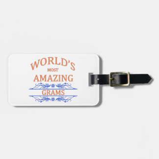 Amazing Grams Tags For Bags