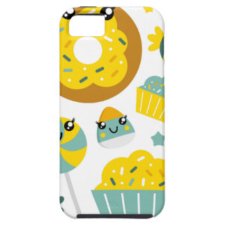Amazing hand-drawn Donuts Illustrated iPhone 5 Cases