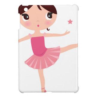 Amazing hand painted Pink balerina iPad Mini Case