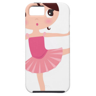 Amazing hand painted Pink balerina iPhone 5 Cover