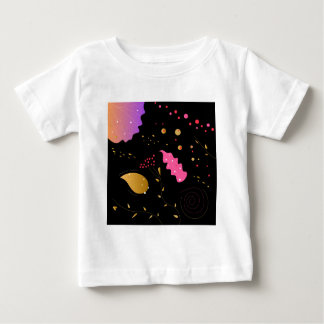 Amazing handdrawn Artistic Collection BLACK FOLK Baby T-Shirt