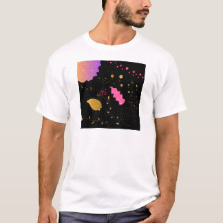Amazing handdrawn Artistic Collection BLACK FOLK T-Shirt