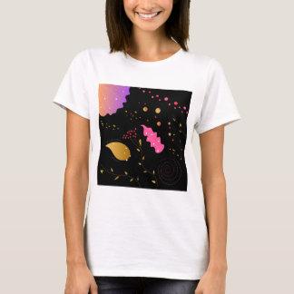 Amazing handdrawn Artistic Collection BLACK FOLK T-Shirt