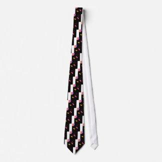 Amazing handdrawn Artistic Collection BLACK FOLK Tie