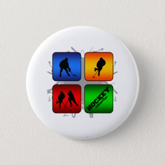 Amazing Hockey Urban Style 6 Cm Round Badge