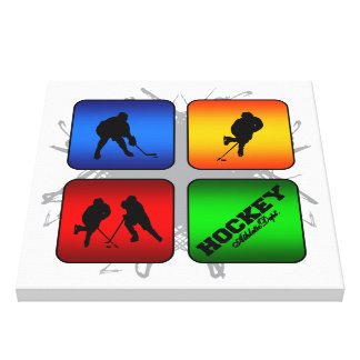 Amazing Hockey Urban Style Canvas Print
