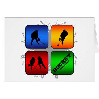 Amazing Hockey Urban Style Card