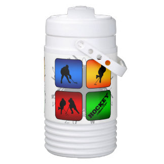 Amazing Hockey Urban Style Drinks Cooler