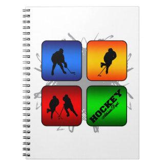 Amazing Hockey Urban Style Notebooks