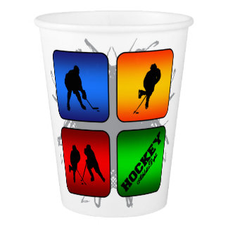 Amazing Hockey Urban Style Paper Cup