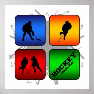 Amazing Hockey Urban Style Poster