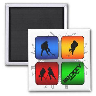 Amazing Hockey Urban Style Square Magnet