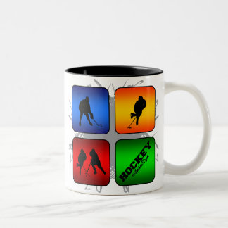 Amazing Hockey Urban Style Two-Tone Coffee Mug