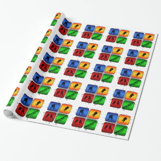 Amazing Hockey Urban Style Wrapping Paper