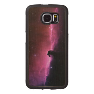 Amazing Horsehead Nebula Wood Phone Case