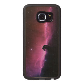 Amazing Horsehead Nebula Wood Phone Case