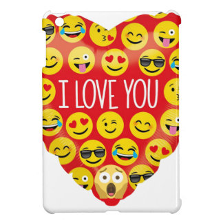 Amazing I love you Emoji Gift Case For The iPad Mini