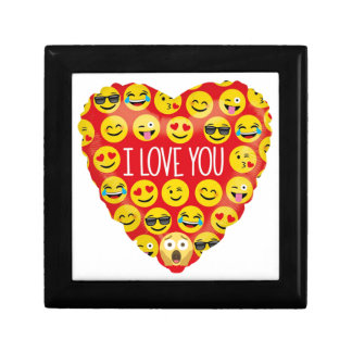 Amazing I love you Emoji Gift Gift Box