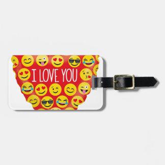 Amazing I love you Emoji Gift Luggage Tag