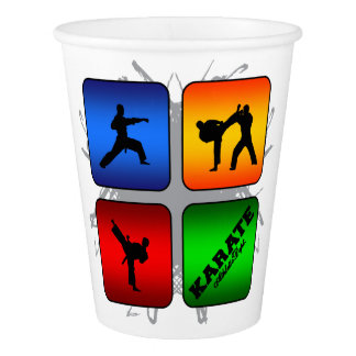 Amazing Karate Urban Style Paper Cup