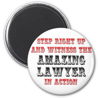Amazing Lawyer In Action Refrigerator Magnet