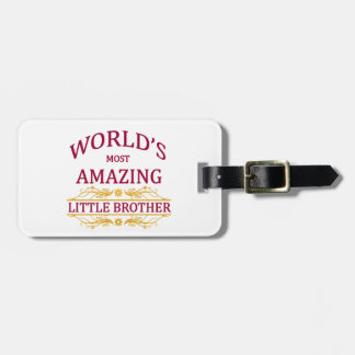 Amazing Little Brother Luggage Tag