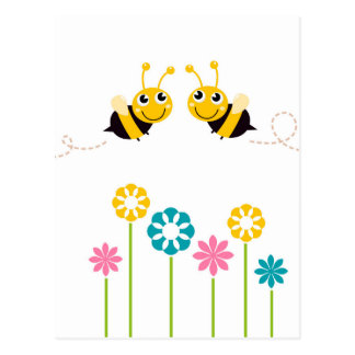 Amazing little cute Bees t-shirts Postcard