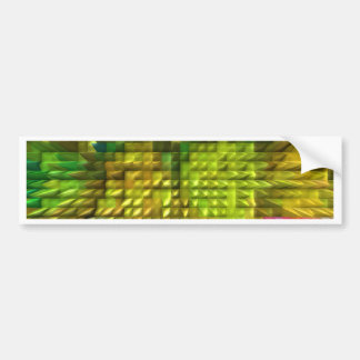 Amazing Magical Diamond Patterns 12  V1 Bumper Sticker