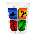 Amazing Motocross Urban Style Paper Cup