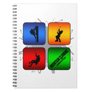 Amazing Mountain Climbing Urban Style Notebook