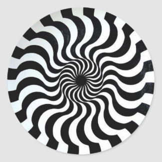 amazing optical illusion sticker