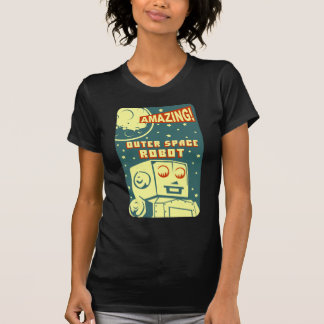 Amazing Outer Space Robot Shirt