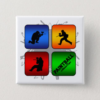 Amazing Paintball Urban Style 15 Cm Square Badge