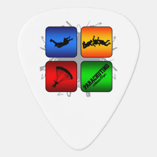 Amazing Parachuting Urban Style Plectrum